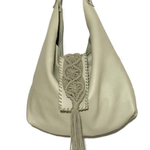 destiny beige hobo bag