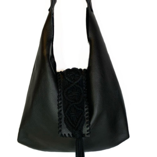 DESTINY BLACK HOBO BAG