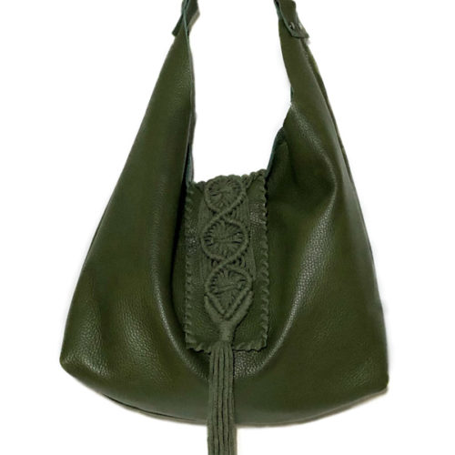 destiny olive hobo bag