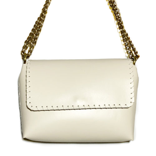 echo leather shoulder bag